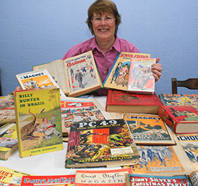 Chelford's comic collector
