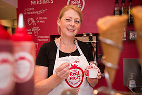 Alison Cunliffe of Real Fruit Creamery