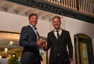 Francesco group managing director, Ben Dellicompagni, pictured with salon director, Matt Haylor (right)