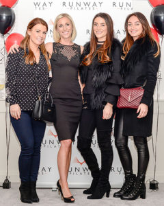 Coleen Rooney, Lucy and Amy Bruce, Magali Gore
