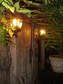 Outside Wizardry front door