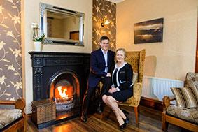 Owners, Teresa and Pierre Krebs