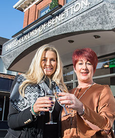 L-R-Real-Housewives-of-Cheshire-star-Leanne-Brown-Celebrates-the-Opening-of-Benetton-Wilmslow-with-Director-Clare-Vaughan.