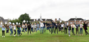Some of the King's GCSE students with eight 9 or 8 grades