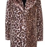DP animal print coat