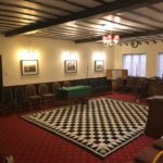 The Lodge room in all its glory