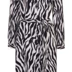 Wallis Animal Print Dress (1)