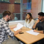 Students preparing to apply for competitive degree courses.