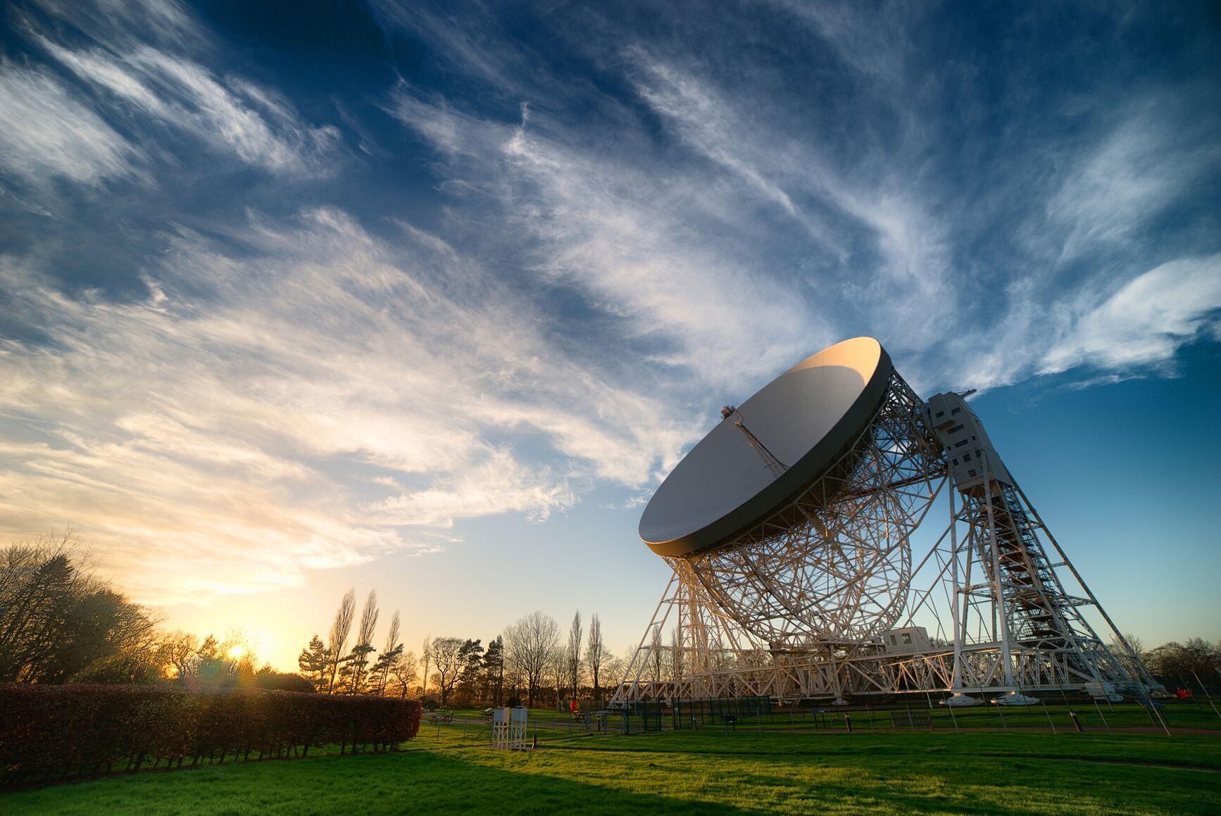 Lovell Telescope - Anthony Holloway