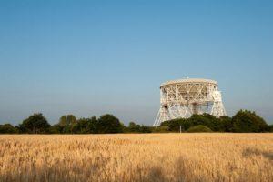 Lovell Telescope and fields - Howard Barlow.