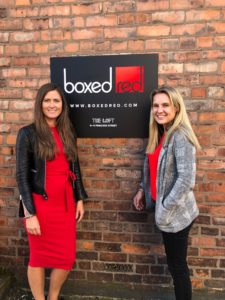 Janna Caley welcomes Ruth Gresty to Boxed Red Marketing