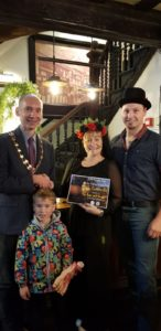Runner Up: Rose & Crown and Knutsford Town Mayor Andrew Malloy