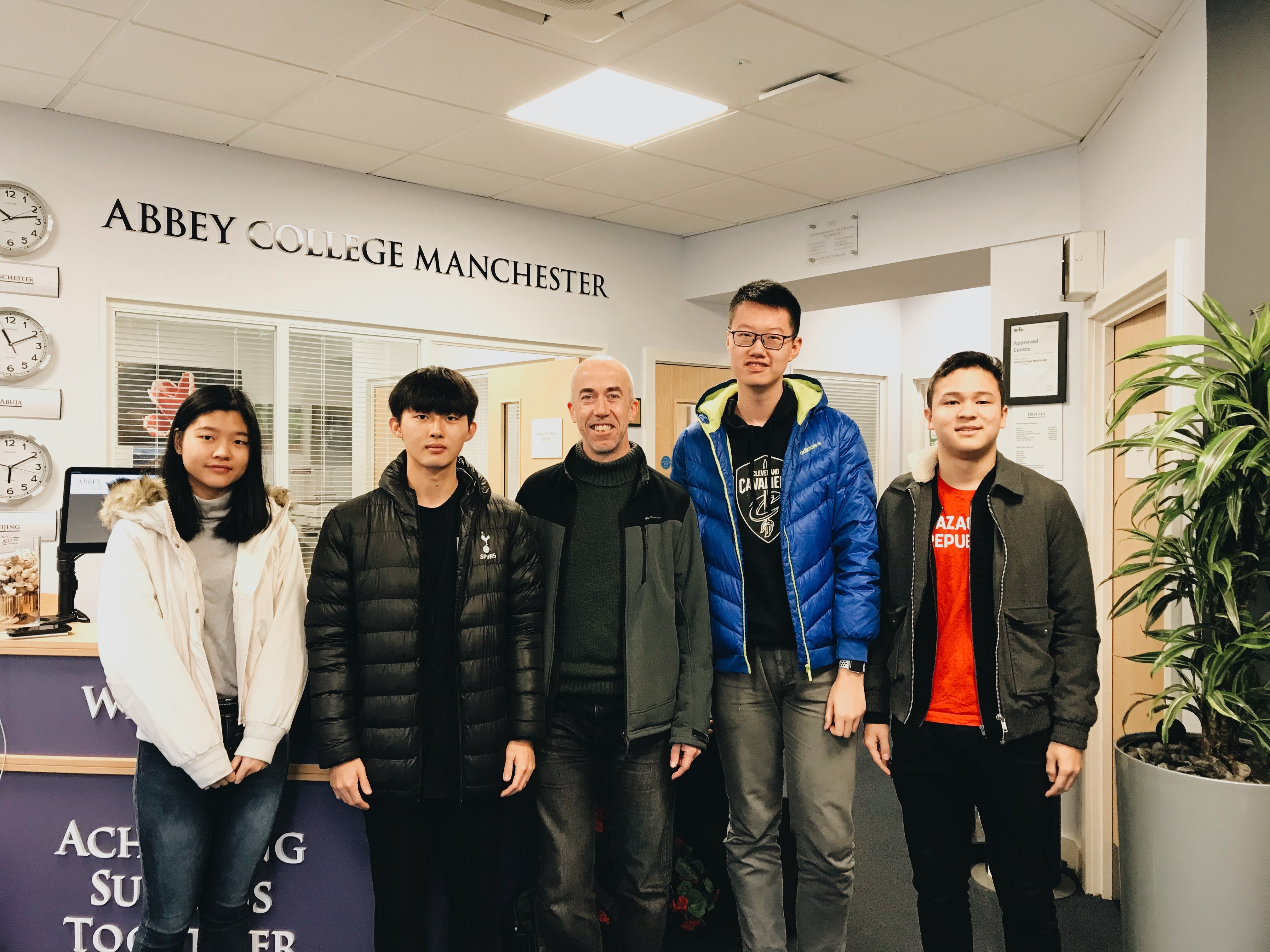 Top Marks for Abbey Manchester Students in Mathematics Competition