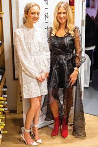 Emily Holmes-Naden (left) with Deborah Summerfield.