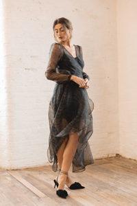 Smokey Quartz Dress - £145.
