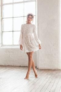 White Celestite Dress - £175
