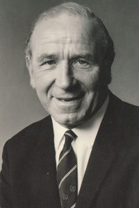 Sir Matt Busby.